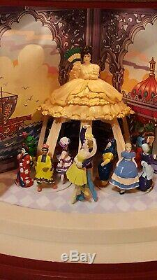 Mr. Christmas Nutcracker Suite Rotating Scenes Gold Label Animated 1999 WORKS