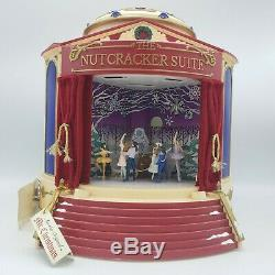 Mr. Christmas Nutcracker Suite Rotating Scenes Gold Label Animated Tested Works