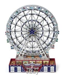 Mr. Christmas Platinum Ferris Wheel NEW 79793