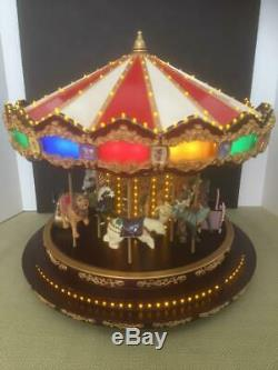 Mr Christmas Royal Marquee Deluxe Grand Carousel 901593