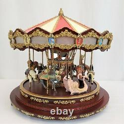 Mr. Christmas Royal Marquee Deluxe Grand Carousel Sound, Lights, and Moves