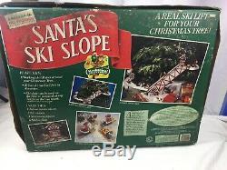 Mr Christmas Santa Ski Slope Lift Complete NEW IN THE BOX BOX HAS WEAR READ