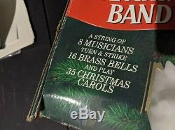 Mr Christmas Santa's Marching Band Mouse Holiday Musical Bell VTG 1992 35 Songs