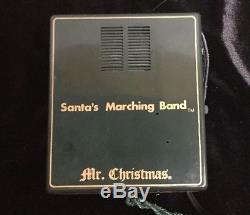 Mr Christmas Santa's Marching Band Musical