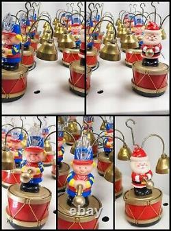 Mr. Christmas Santa's Marching Band Musical Bells 35 Carols Original Box 1991