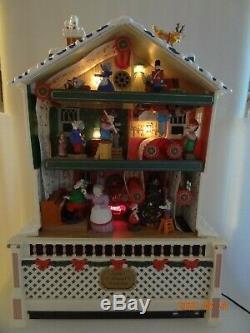 Mr. Christmas Santa's Musical Animated Worksop Holiday Decor