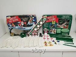 Mr. Christmas Santa's Ski Slope WORKING With BOX Vintage (1992) Tree Decoration