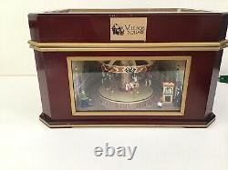 Mr. Christmas Village Square 2003 Holiday Symphonium Music Box Carousel 16 Disks