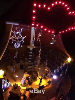 Mr Christmas WORLD'S FAIR BIG TOP CIRCUS Animated Musical #79881