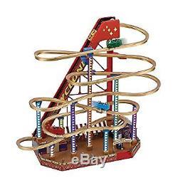 Mr. Christmas WORLD'S FAIR GRAND ROLLER COASTER NEW 79751