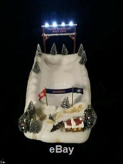 Mr Christmas Winter Wonderland Half Pipe