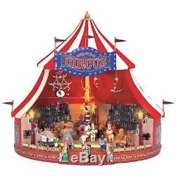 Mr. Christmas World's Fair Big Top Lights Sound Motion 50 Tune Musical Mib