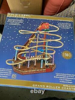 Mr. Christmas World's Fair Gold Label Edition Illuminated Grand Roller Coaster