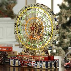 Mr. Christmas World's Fair Grand Ferris Wheel Music Box VETERAN OWNED