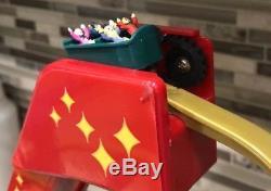 Mr Christmas World's Fair Grand Roller Coaster Music Animated #79751