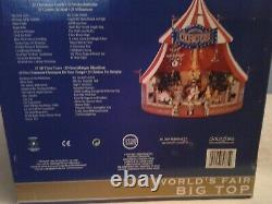 Mr. Christmas Worlds Fair Big Top GOLD LABEL COLLECTION New In Box