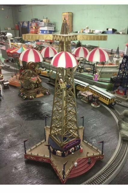 Mr. Christmas Gold Label Worlds Fair Parachute Ride No Issues