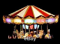 NDB-CR-Mr. Christmas Grand Jubilee Carousel Light