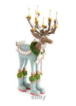 NEW 12 Patience Brewster Dasher Reindeer Figure Krinkles DASHAWAY Dept 56