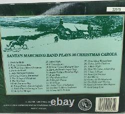 NEW 1992 Mr. Christmas SANTA's Marching Band Holiday Musical Bell Choir