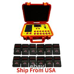 NEW 500M 48 cues fireworks firing system 1200cues wireless control Ship From USA