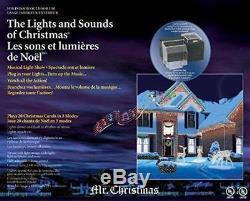 NEW Mr Christmas Lights and Sounds of Christmas Light Show Controller 67791