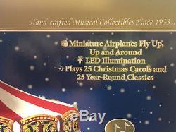 NIB Mr. Christmas Gold Label World's Fair Biplane Ride 79764 Plays 50 Songs