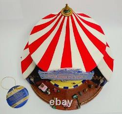 NOS Mr. Christmas Worlds Fair Big Top GOLD LABEL COLLECTION Amazing New In Box