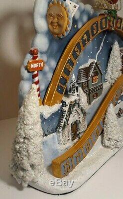 NWT Large Katherines Collection Santa Claus Sled Christmas Advent Calendar