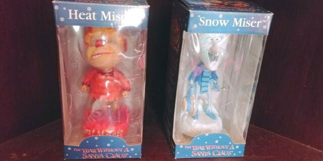 Neca Bobble Head Knockers The Year Without A Santa Claus Heat & Snow Miser