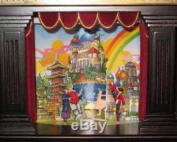 New 2010 Mr Christmas Nutcracker Suite Wooden Music Box 4 Scenes 8 Songs Ballet