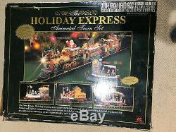 New Bright The Holiday Express Animated Train Set No 387