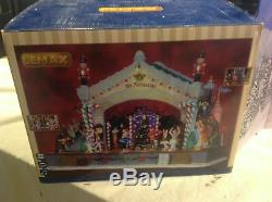 New Lemax Christmas Nutcracker Suite Stage Show Action/Lites Music Box SEE VIDEO