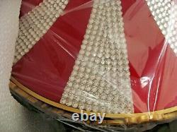 New Mr. Christmas Swarovski Holiday Carousel Only 100 Made