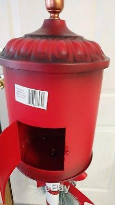 New Santa's North Pole Red 4 Ft Mailbox Christmas Letter Postbox Chicago Pick Up