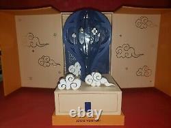 Nib Louis Vuitton Vip 2019 Autumn Festival Lucky Clouds 3d Balloon Mooncake Box