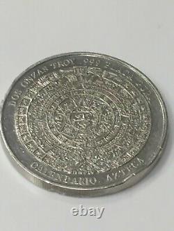 PANCHO VILLA silver coin good condition and plata pura, 999 2 onzas TROY