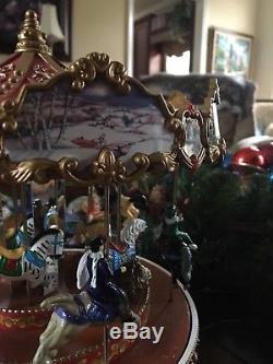 Pre-Christmas Sale! Mr christmas Triple Dexker Holiday carousel