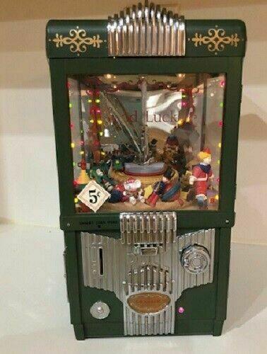 Rare Enesco The Grabber Arcade Game Actions Toys/lights Bank/music Box Boxed