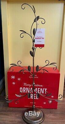 RARE Hallmark 2013 Metal Ornament Tree Stand Display 12 Days of Christmas NIB