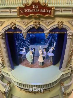 RARE Mr. Christmas European Opera House The Nutcracker Ballet Music Box VIDEO