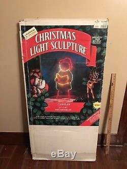 RARE Mr Christmas LARGE Silhouette Light Sculpture COLLECTION! OMG
