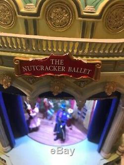 RARE Mr. Christmas Nutcracker Ballet Gold Label Music Box withBox Excellent! FUN