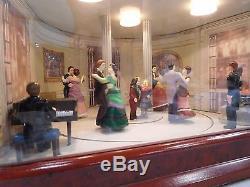 RARE Mr. Christmas Victorian Era Moving Ballroom Dancers 50 Tune Disc Music Box