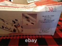 RARE Mr. Christmas Winter Wonderland Super Sledders 2008 Works great, Tested