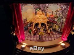 RARE Vintage 1999 THE NUTCRACKER SUITE Stage Curtain Lights Music Mr Christmas