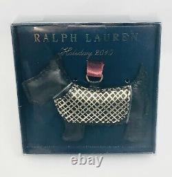 Ralph Lauren Scottie Dog Ornament Holiday 2010 Rare New in Box