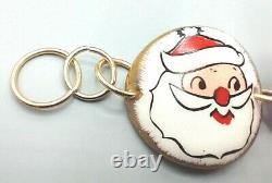 Rare! 1959 Holt Howard Santa Claus Christmas Holiday Toggle Bracelet