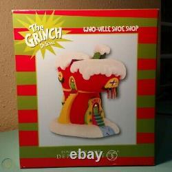 Rare Department 56 Dr. Seuss The Grinch Who-Ville Shoe Shop with Original Box