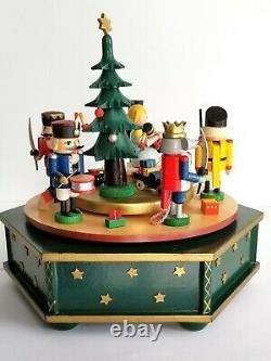 Rare Erzgebirgische Volkskunst Richard Glasser Music Box The Nutcracker Suite